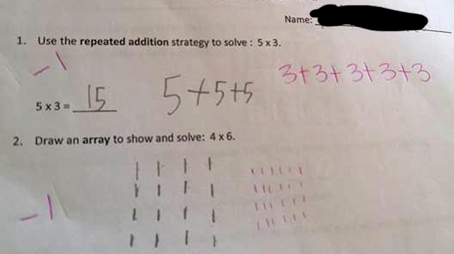 This Teacher Marked a Student's Math Answer Wrong, Parents Question Why