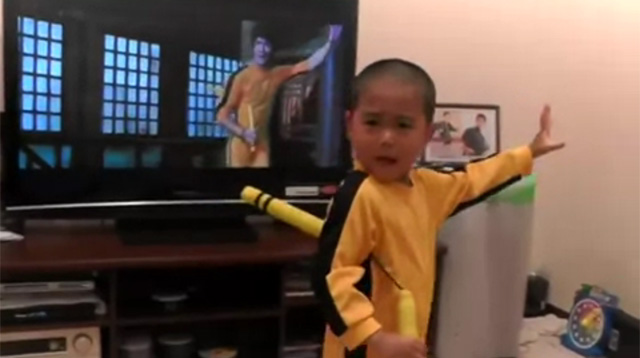 This Made Our Day: This Kid Has Bruce Lee's Moves Down Pat