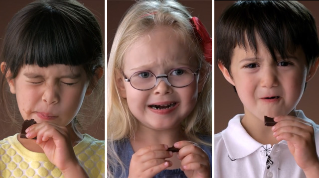 This Made Our Day: Kids Try Dark Chocolate for the First Time