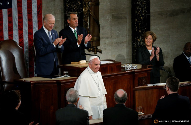 The 4 Points About Family Pope Francis Made During His U.S. Congress Address