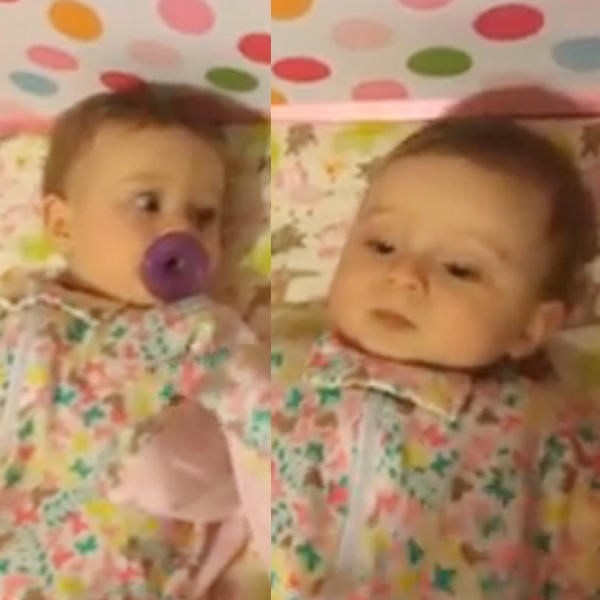 This Made our Day: The Quickest, Slickest Baby Gets Pacifier from Twin