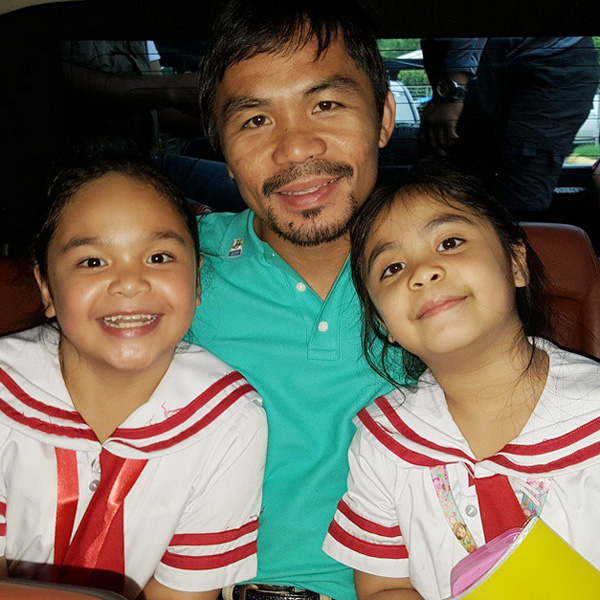 Top of the Morning: Pacquiao Pulls Out Kids from International School