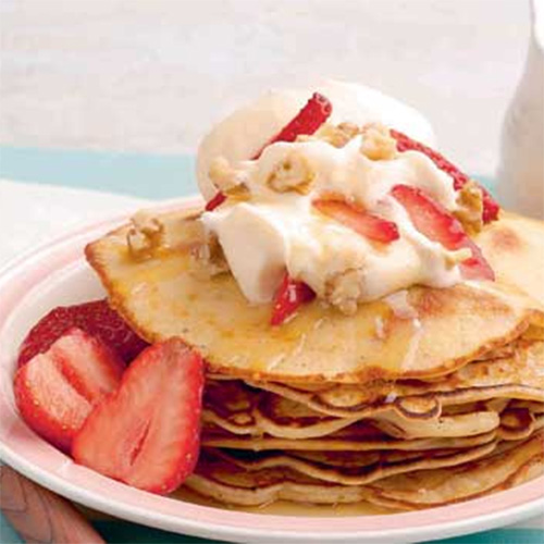 4 Pancake Recipes with a Fruity Twist