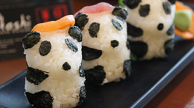 Panda Sushi: The Cutest Thing You'll Eat This October