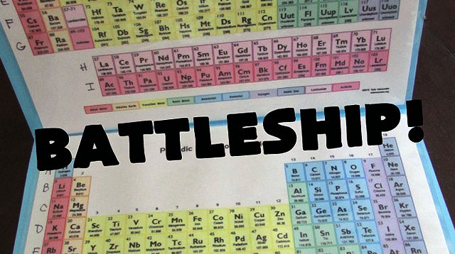 Mommy Hack: Periodic Table Batttleship