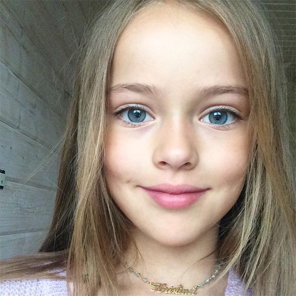"Top of the Morning: 9-Year-Old Named ""World's Most Beautiful Girl"""
