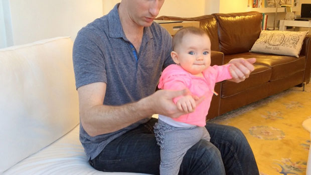 baby exercise pilates