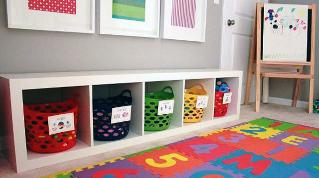 5 Organizing Tips For Kiddie Playrooms