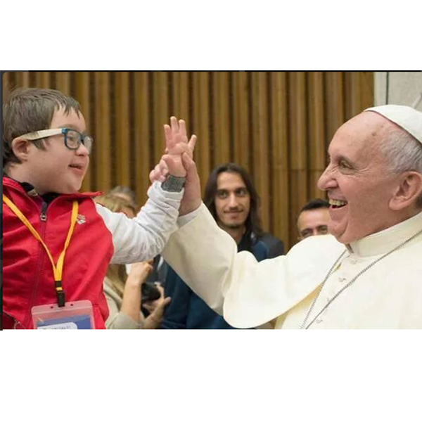 Top of the Morning: Pope Francis Prays for Children with Autism