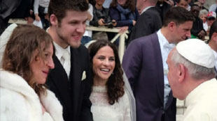 Pope Francis Miracles-Liz and Ryan
