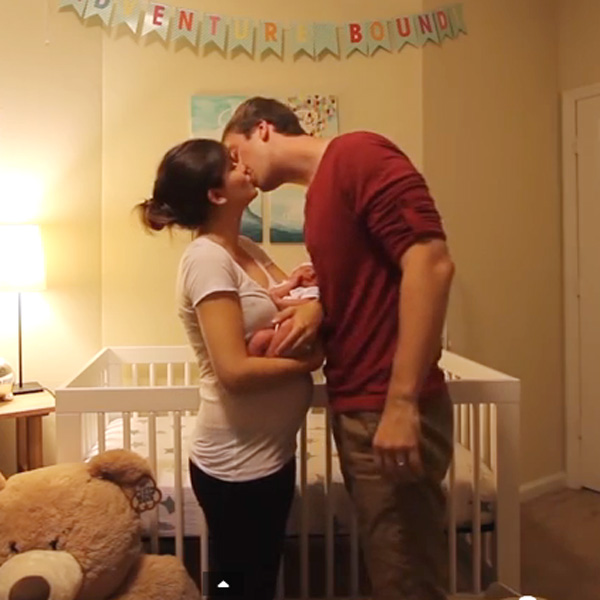This Made Our Day: Amazing Pregnancy Time Lapse In 3 Minutes