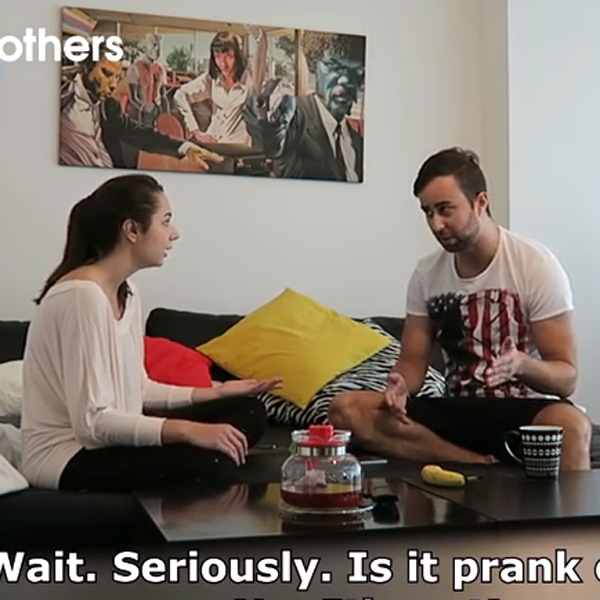 This Made Our Day: Girl Pranks Boyfriend About Pregnancy, But She Didn't See This Coming