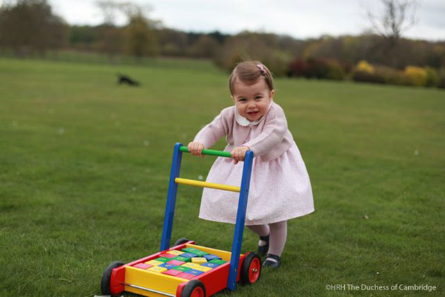 Princess Charlotte turns 1 photos