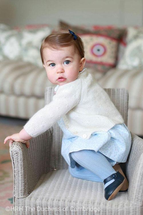 Princess Charlotte turns 1 photos