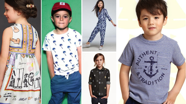 Shopping Guide: These Popular Prints Will Be the Trend in Kids' Fashion