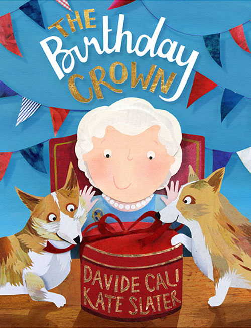 The Birthday Crown children's book cover