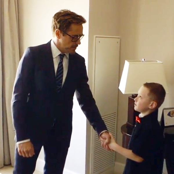 Top of the Morning: Robert Downey, Jr. Delivers