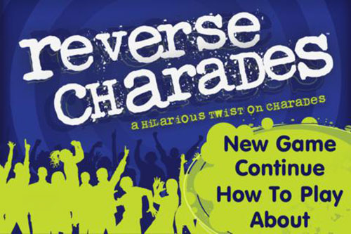 Reverse Charades app game