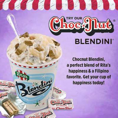Rita's chocnut blendini