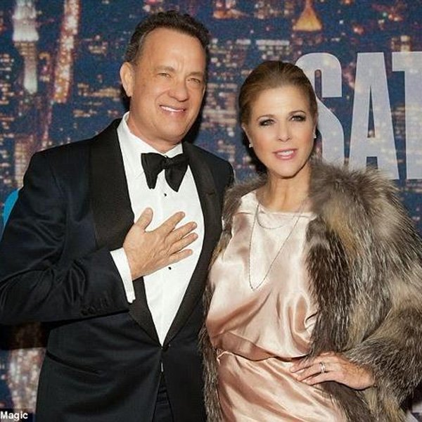 Top of the Morning: Tom Hanks's Wife Recovering from Breast Cancer