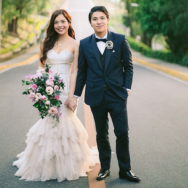 Top of the Morning: Actress-blogger Saab Magalona Ties the Knot