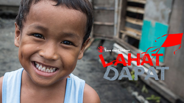 Save The Children Lahat Dapat