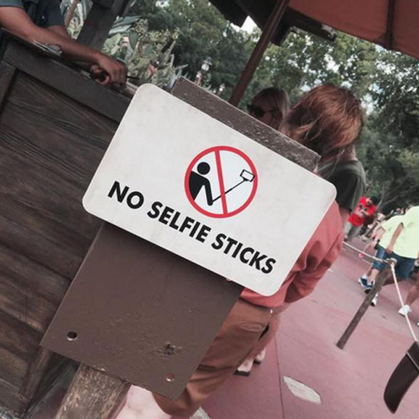 Top of the Morning: Selfie Sticks Now Banned at Disney World Rides