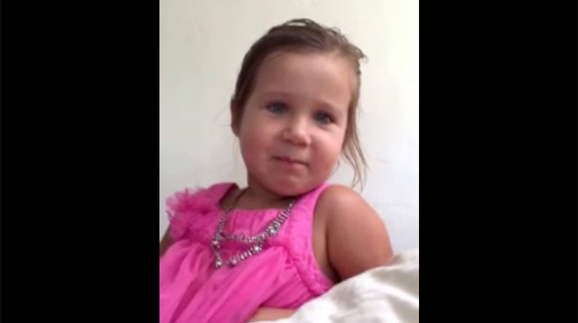 This Made Our Day: This Little Girl Who's Telling Her Dad That She's Definitely NOT a Princess