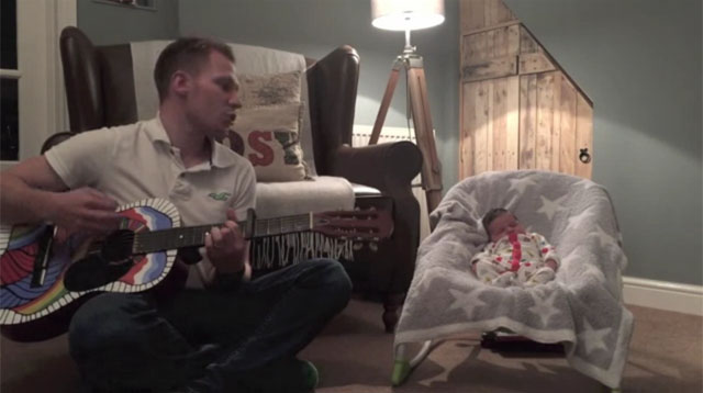 This Made Our Day: Dad's Writes an Enchanting Lullaby for His Newborn Daughter