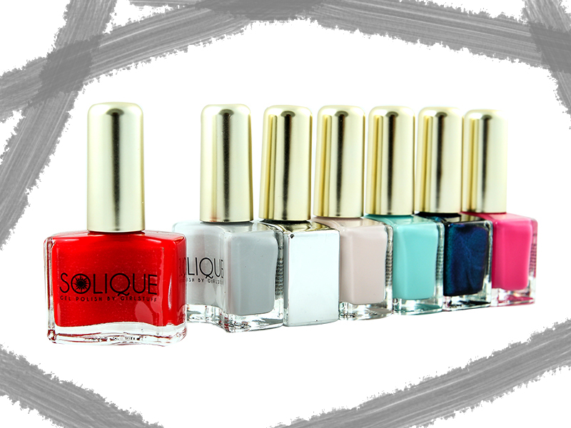 Solique Gel Nail Polish by Girlstuff