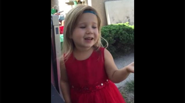 This Made Our Day: Little Girl Schools Dad on Wedding Etiquette