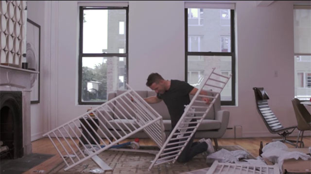 This Made Our Day: Ryan Reynolds Tries, and Fails, to Build an IKEA Crib