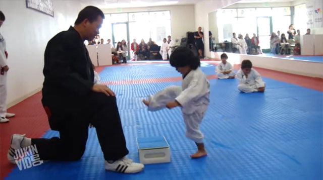 This Made Our Day: This Little Boy and His Adorable Martial Arts Skills