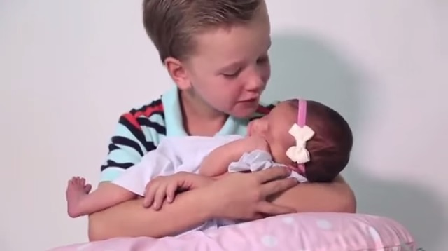 This Made Our Day: Six Brothers Meet Their New Baby Sister