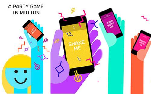 ShakePop app game