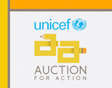 UNICEF action for auction