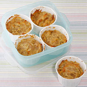 apple cereal muffin