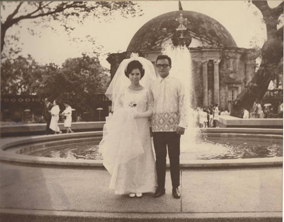 Miriam Defensor Santiago wedding