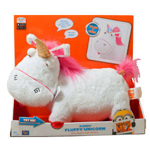 Toy Special Day #30: Agnes's Fluffy Unicorn Electronic Plush