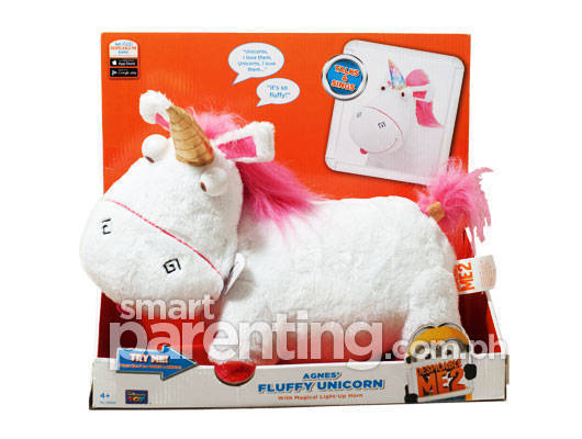 Agnes's Fluffy Unicorn Electronic Plush