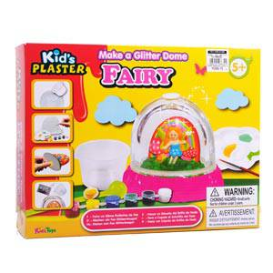 Toy Special Day #12: Kid's Toys Make a Glitter Dome Fairy