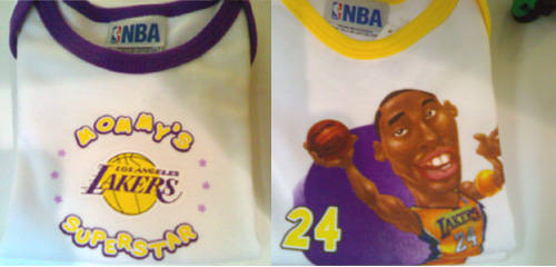 Lakers Onesie Prints