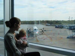 mom airport