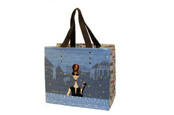 Hepburn newspaper bag