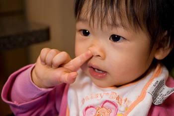 kid pick nose