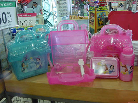 Disney's Princesses lunchboxes