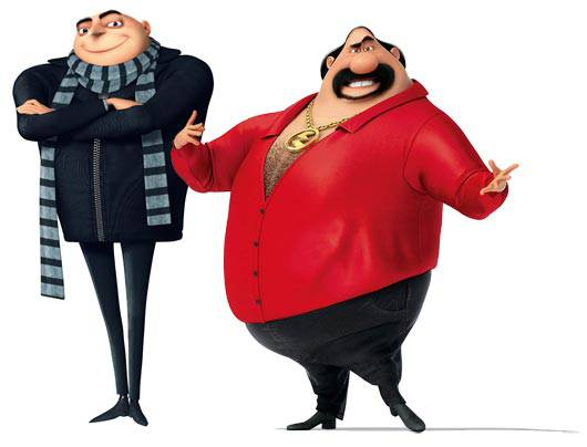 Gru and El Macho
