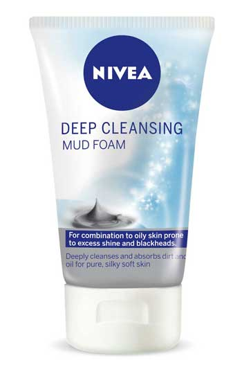 Nivea Deep Cleansing Mud Foam