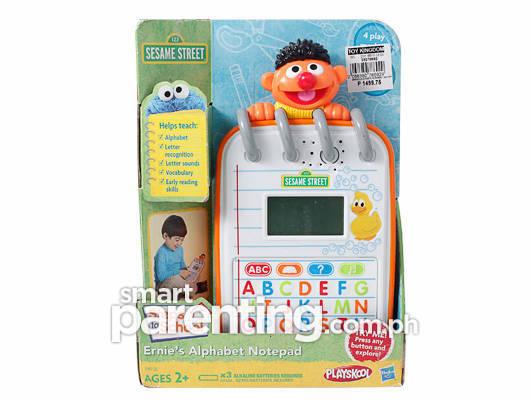 Ernie's Alphabet Notepad