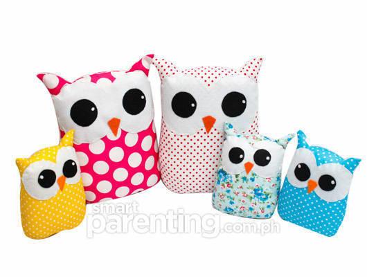 fabric owls